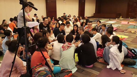 201607邱显峰黄山脉轮与胜王瑜伽中级教师认证班精采回忆3-16