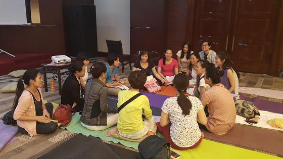 201607邱显峰黄山脉轮与胜王瑜伽中级教师认证班精采回忆3-18