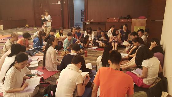 201607邱显峰黄山脉轮与胜王瑜伽中级教师认证班精采回忆3-12