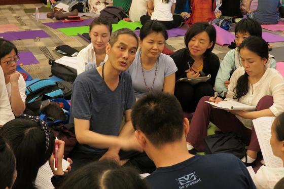 201607邱显峰黄山脉轮与胜王瑜伽中级教师认证班精采回忆3-14