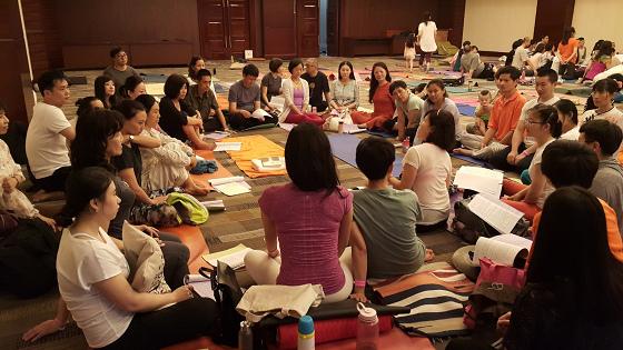 201607邱显峰黄山脉轮与胜王瑜伽中级教师认证班精采回忆3-23