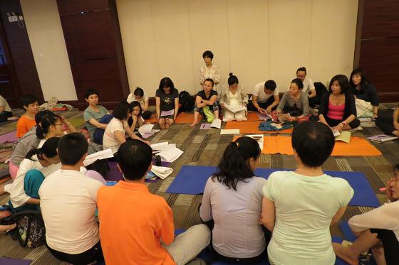 201607邱显峰黄山脉轮与胜王瑜伽中级教师认证班精采回忆3-24