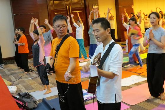 201607邱显峰黄山脉轮与胜王瑜伽中级教师认证班精采回忆3-25