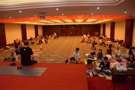 201607邱显峰黄山脉轮与胜王瑜伽中级教师认证班精采回忆4-1