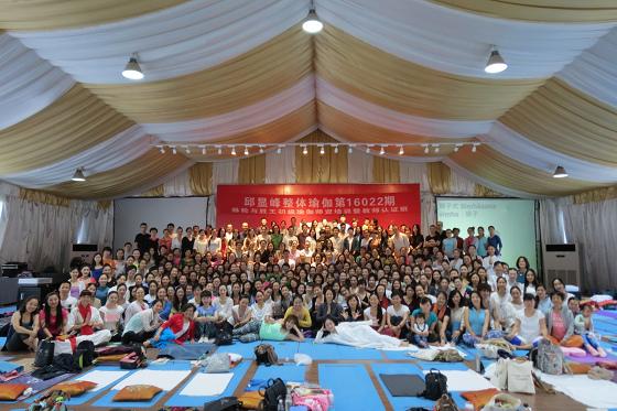 201609邱顯峰上海脈輪與勝王瑜伽初級教師認證班精采回憶一-1