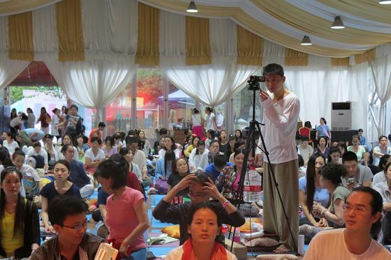 201609邱顯峰上海脈輪與勝王瑜伽初級教師認證班精采回憶一-45