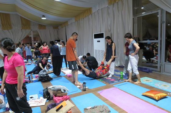 201609邱显峰上海脉轮与胜王瑜伽初级教师认证班C-8