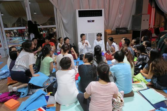 201609邱显峰上海脉轮与胜王瑜伽初级教师认证班C-11