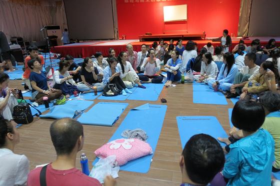 201609邱显峰上海脉轮与胜王瑜伽初级教师认证班C-21