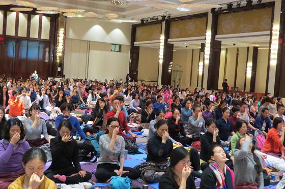 201612邱顯峰南京瑜伽呼吸與身印初級教師認證班精采回憶I-7