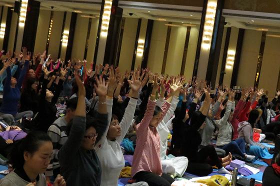 201612邱顯峰南京瑜伽呼吸與身印初級教師認證班精采回憶I-5