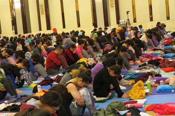 201612邱顯峰南京瑜伽呼吸與身印初級教師認證班精采回憶I-9
