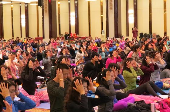 201612邱顯峰南京瑜伽呼吸與身印初級教師認證班精采回憶I-11