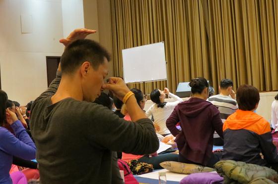 201612邱顯峰南京瑜伽呼吸與身印初級教師認證班精采回憶I-12