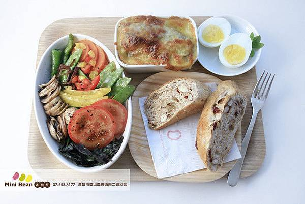 迷你豆早午餐系列-好享受