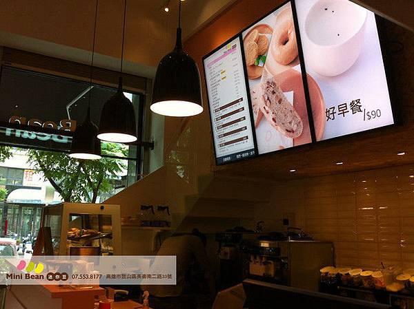 迷你豆 時尚空間-點餐區-高雄有機豆漿