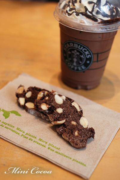 Almond Biscotti - Cocoa flavor