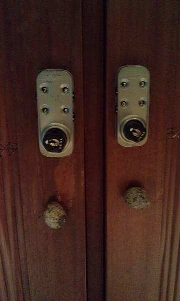 置物櫃的鎖