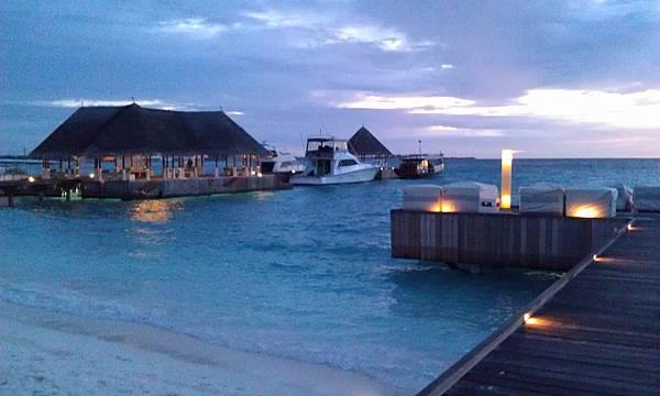 傍晚的碼頭