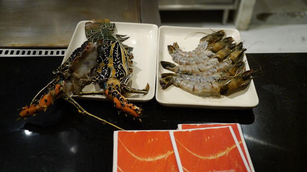 今晚的海鮮主菜