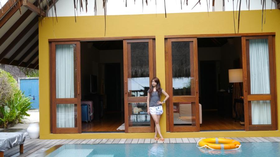 我與沙灘屋