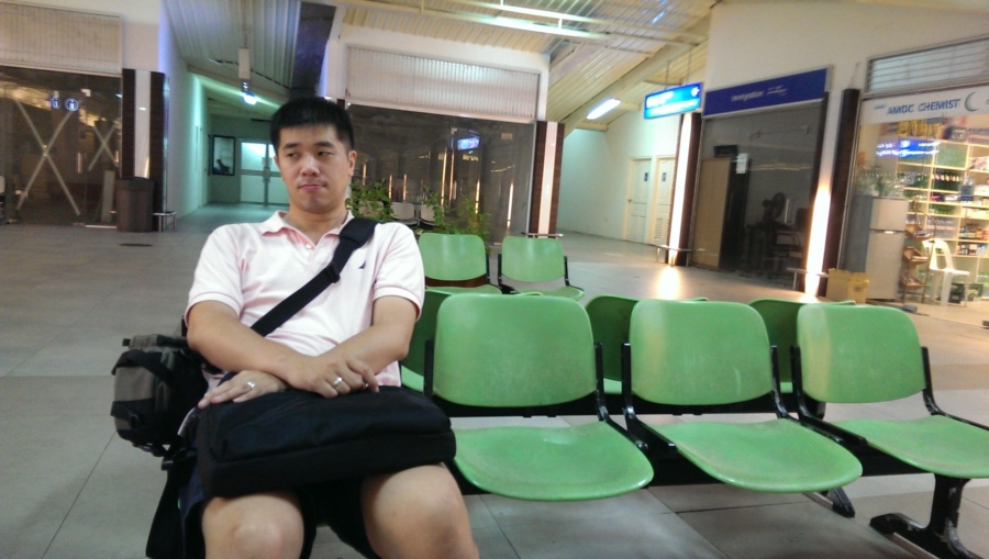 抵達馬列機場