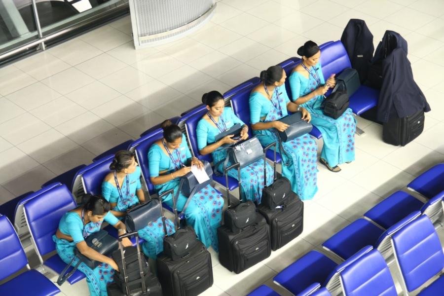 有名的藍孔雀空姐~斯里蘭卡航空