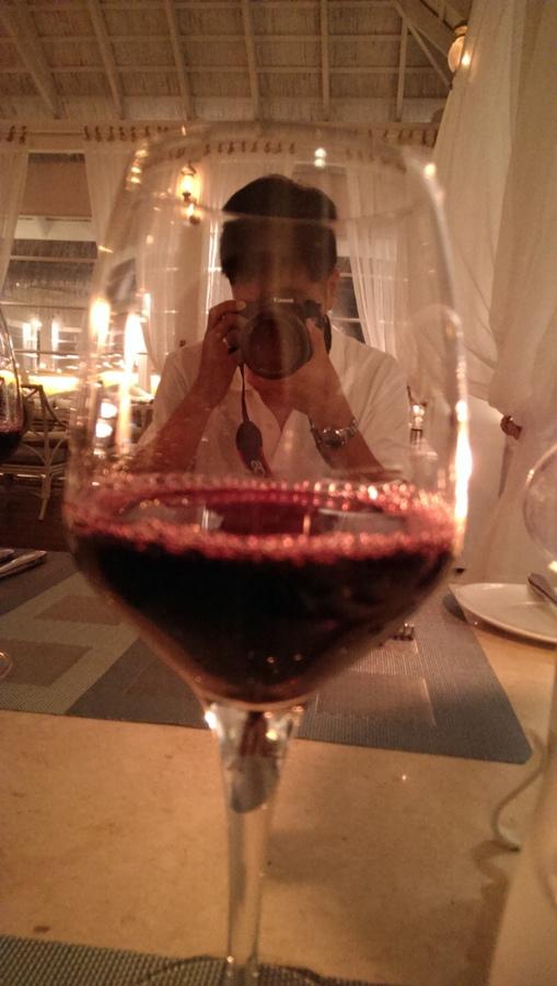 蜜月晚餐附的紅酒