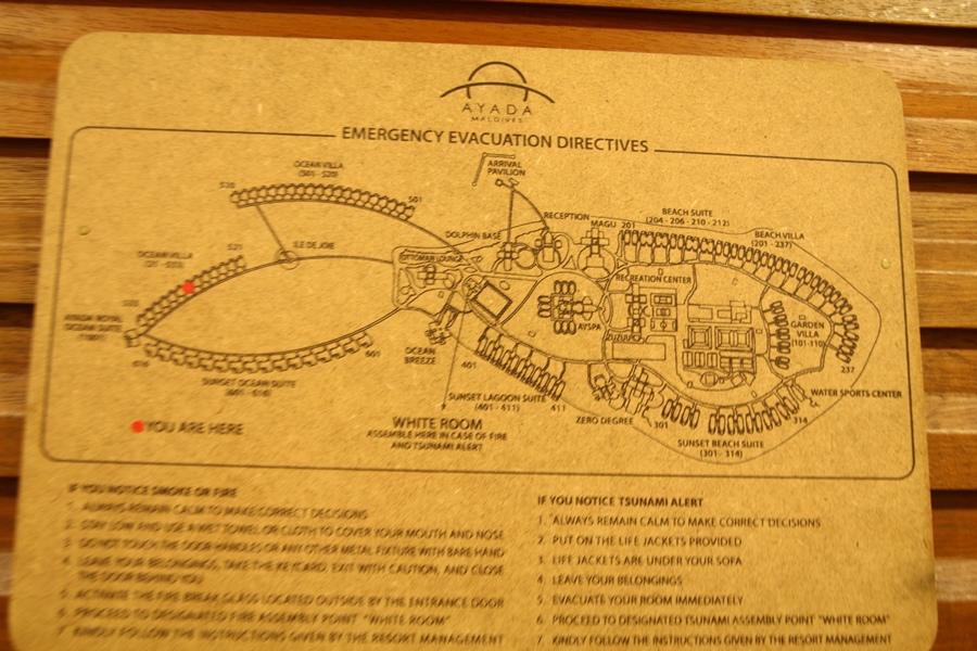 門後的地圖