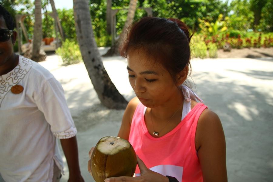 新鮮的椰子