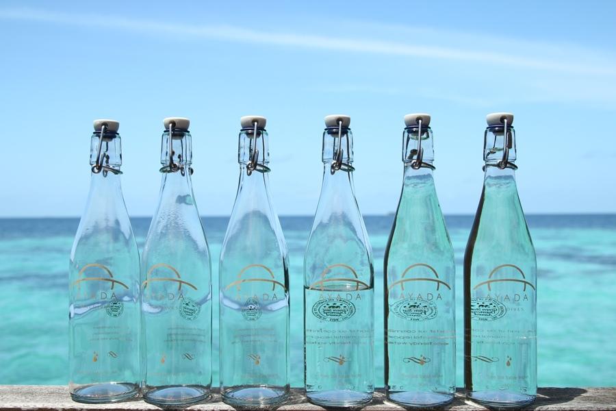 六瓶水好壯觀