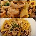 香蒜海鮮麵