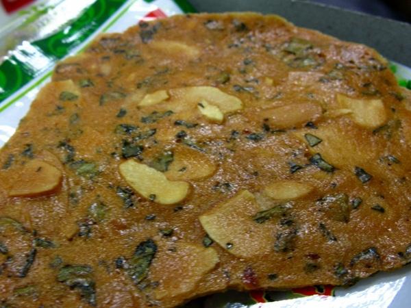 刺蔥餅本體