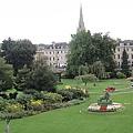 市中心的一個花園