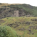 Arthur's Seat山坡上也有面破牆遺跡