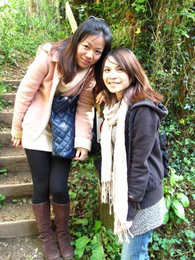 Shanshan & me