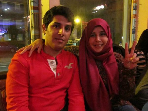 右邊是PhD沙烏地阿拉伯女生Mona