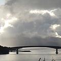 通往Isle of Skpe的橋