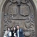 Bath Cathedral的正門