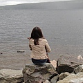 我的背影與尼斯湖