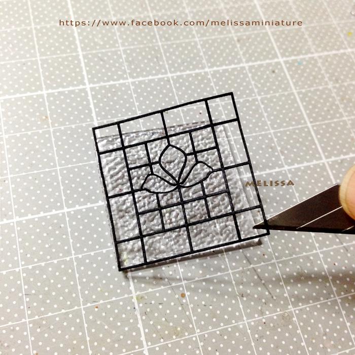 玻璃窗花材料包製作流程~