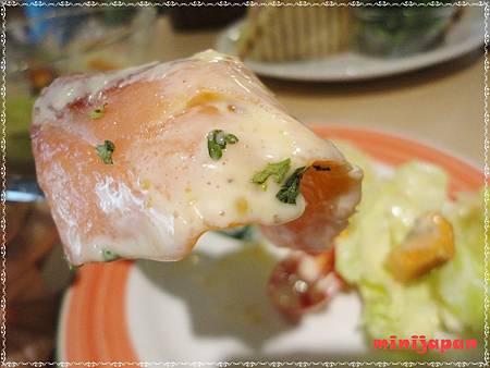 維圖思咖啡~燻鮭沙拉燻鮭鮭.JPG