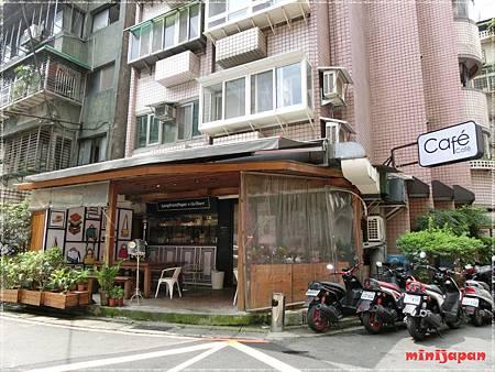 cafe cafe~店外.JPG