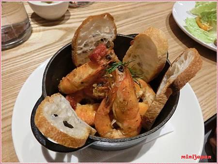 好飯食堂~大蒜蝦.JPG