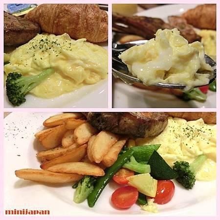 omocafe_噶瑪蘭黑豚早午餐拍