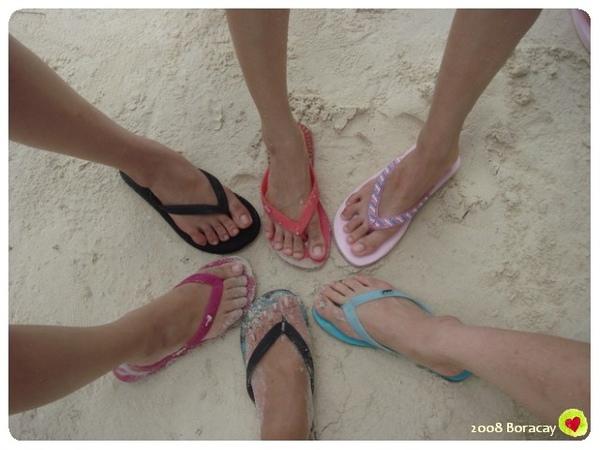 我們的腳 團體照