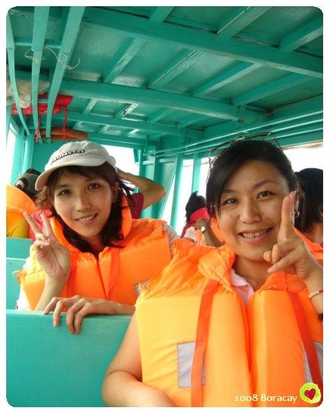 搭螃蟹船也要穿上救生衣