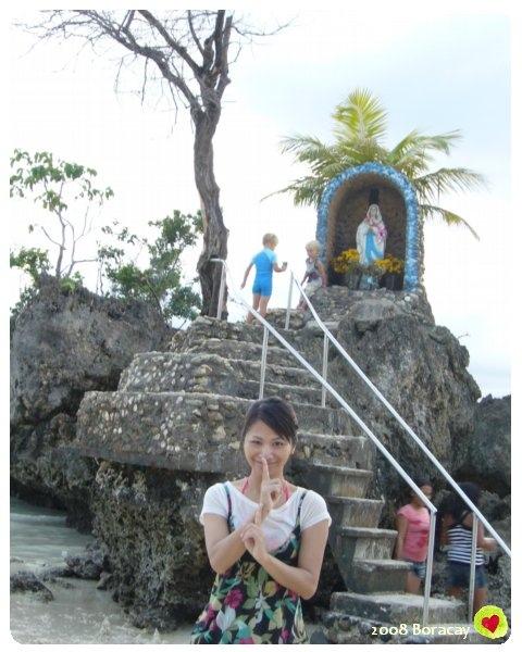 阿蕾在聖母像