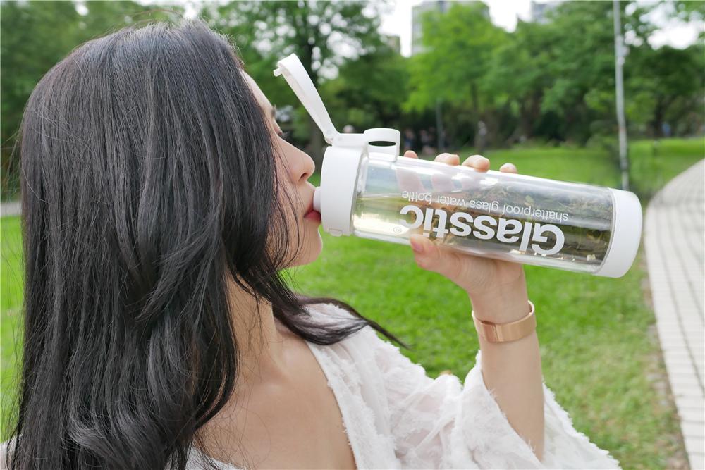 Glasstic 安全防護玻璃水瓶