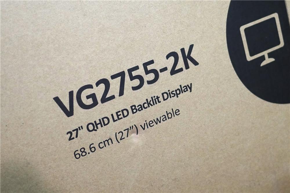 ViewSonic 優派  VG2755-2K螢幕 27吋 人體工學設計多角度旋轉顯示器